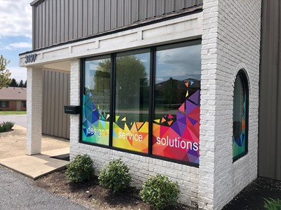 Window Graphics   Corporate Branding Signs   Advertising & Design   Beavercreek, OH