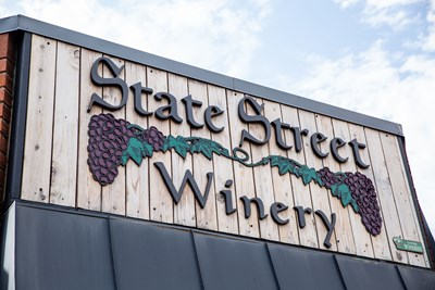 Dimensional Acrylic Sign for Winery