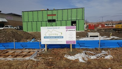 Post and Panel Signs | Signs | Contractor & Construction Signs | Overland Park, KS | Veterinary | Construction Site | Site Sign