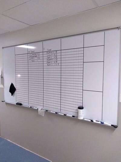 Dry Erase Boards | Aluminum Signs | Education, School & University Signs | Kansas City, MO | White Board