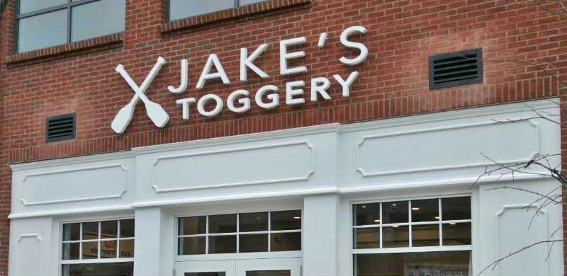Jake's Toggery 3D Retail Storefront Sign