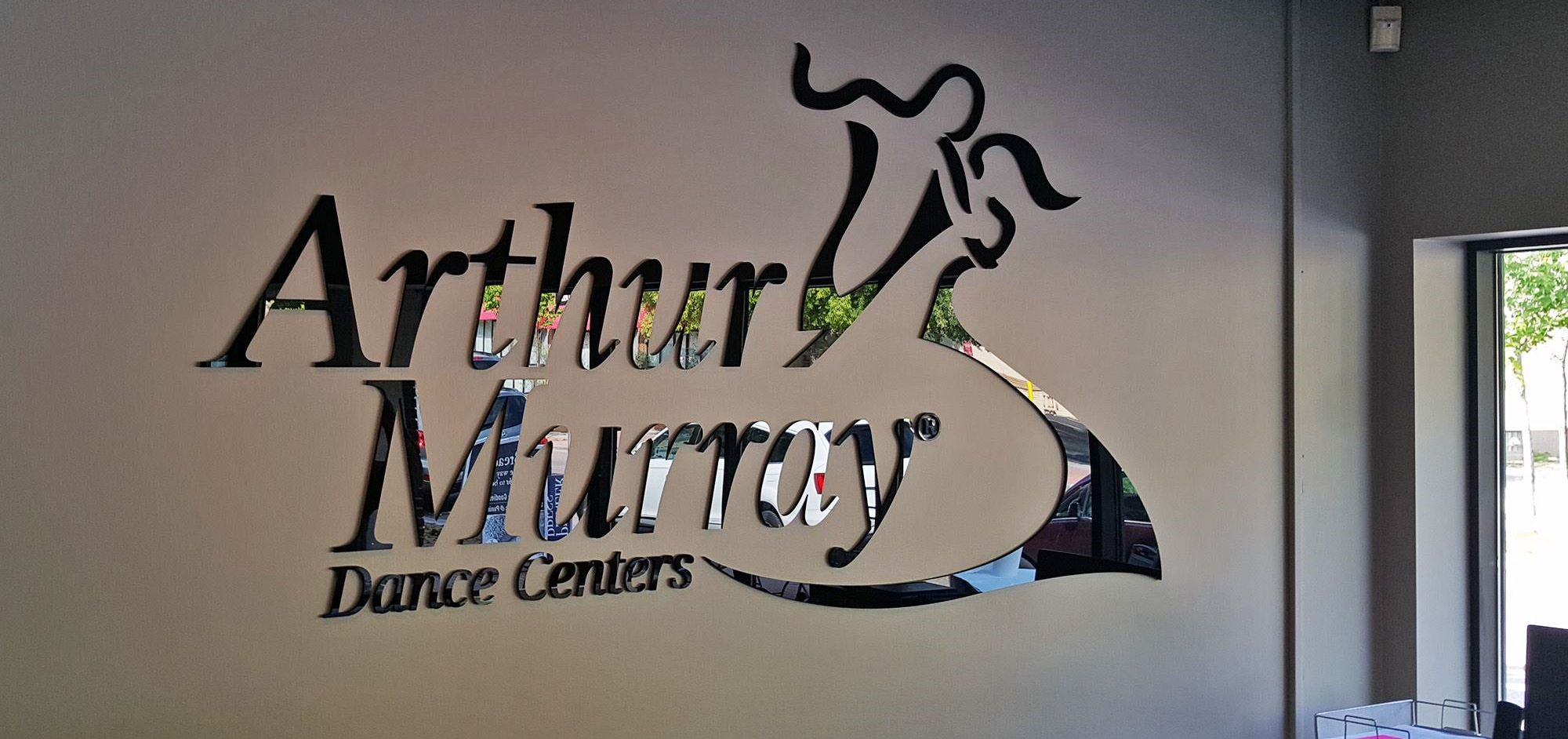 Dimensional Logo Sign for Dance Centers