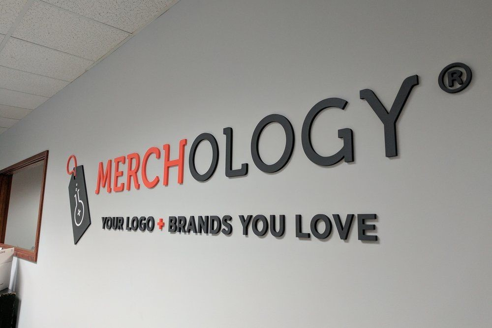 Retail Dimensional Logo Sign for Merchology