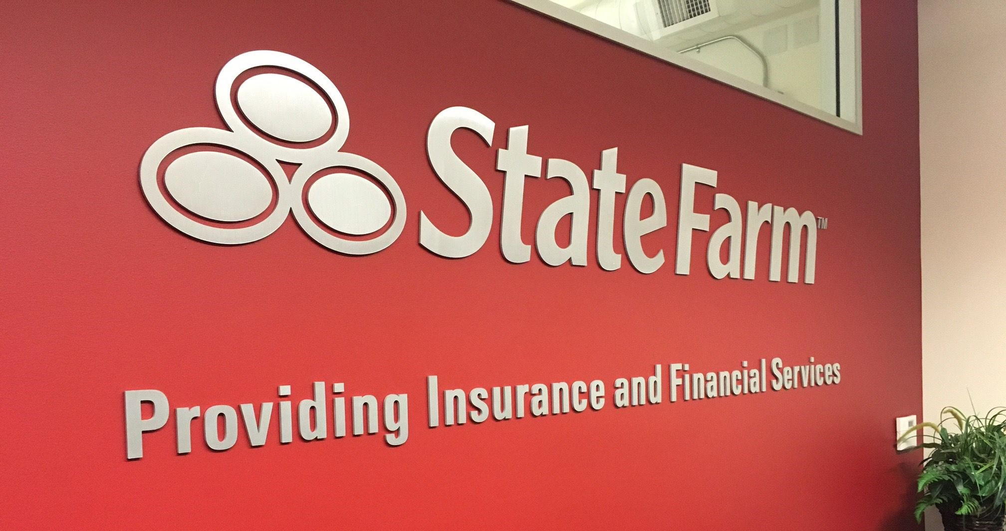 State Farm Dimensional Logo Sign