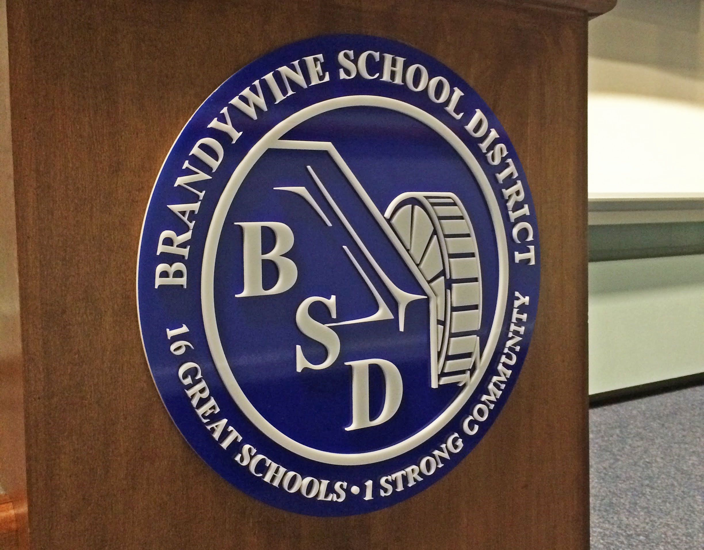 Dimensional Sign for Brandywine School District
