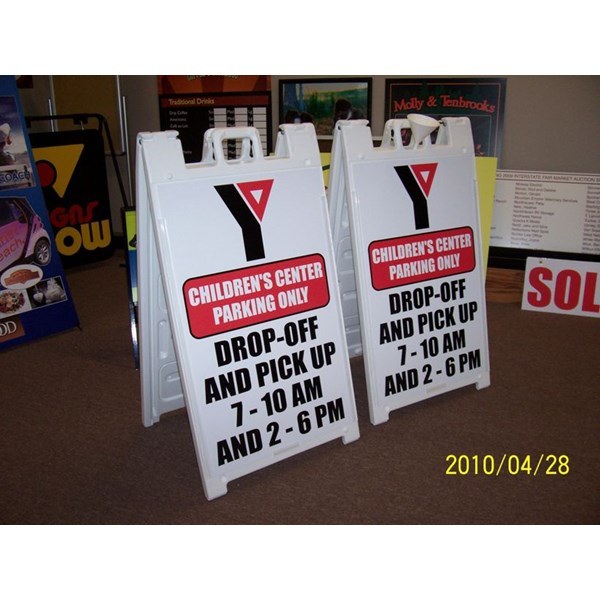 A-frame Wayfinding Signs
