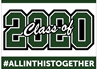 Graduation Sign Class of 2020 Green