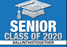 Graduation Senior Class Blue Sign
