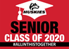 Graduation Senior Class Huskies Sign