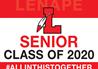 Graduation Senior Class Lenape Sign