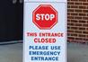 Social Distancing Wayfinding A-Frame Sign
