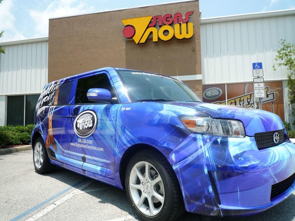 Custom Full Vehicle Wraps | Signs Now Rapid City
