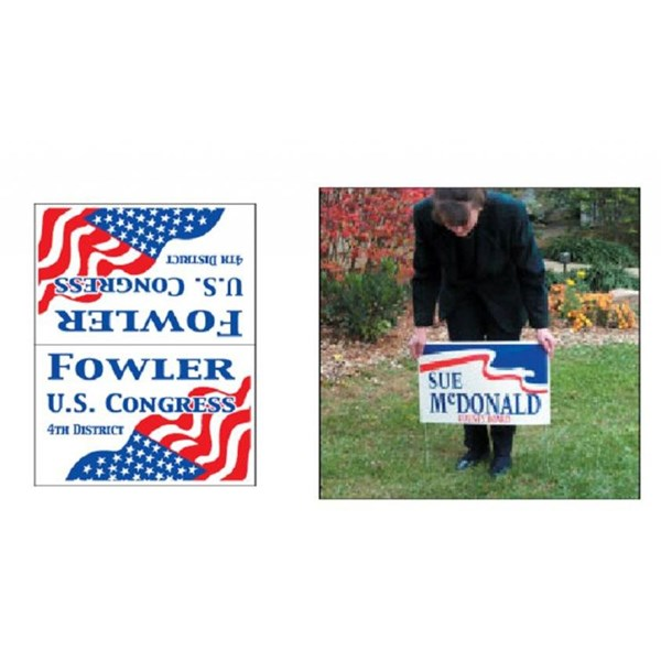 Plastic Signs & Yard Signs