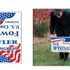 Yes, you CAN recycle your campaign (or real estate) sign