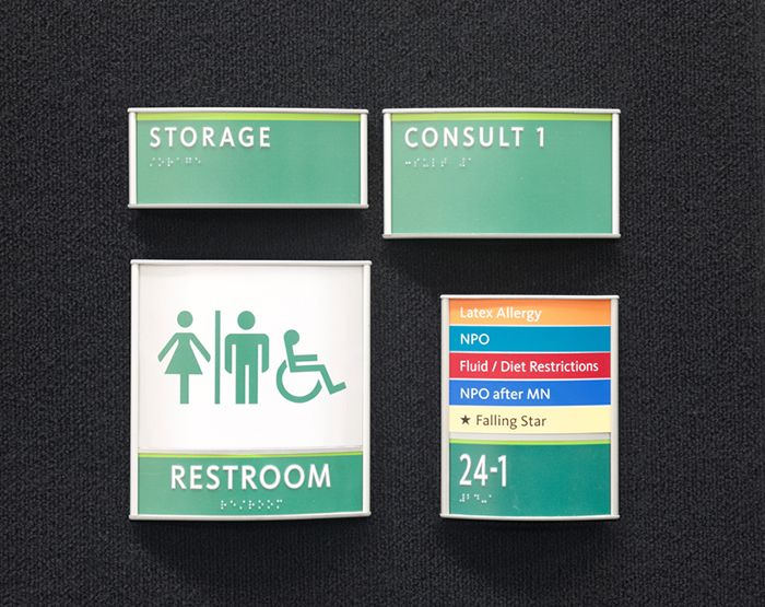 ADA Signs for Healthcare Facility
