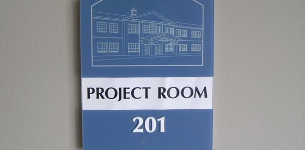 Room identification signs