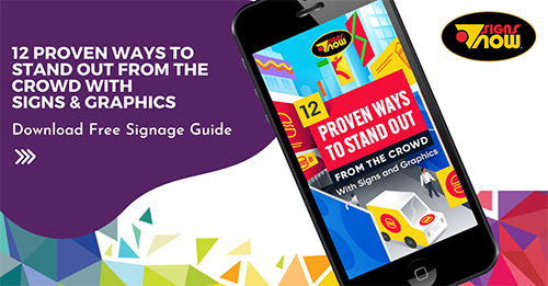 12 Proven Ways to Stand Out From The Crowd With Signs and Graphics E-Book Download