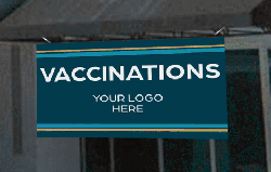 Banner for COVID-19 Vaccination