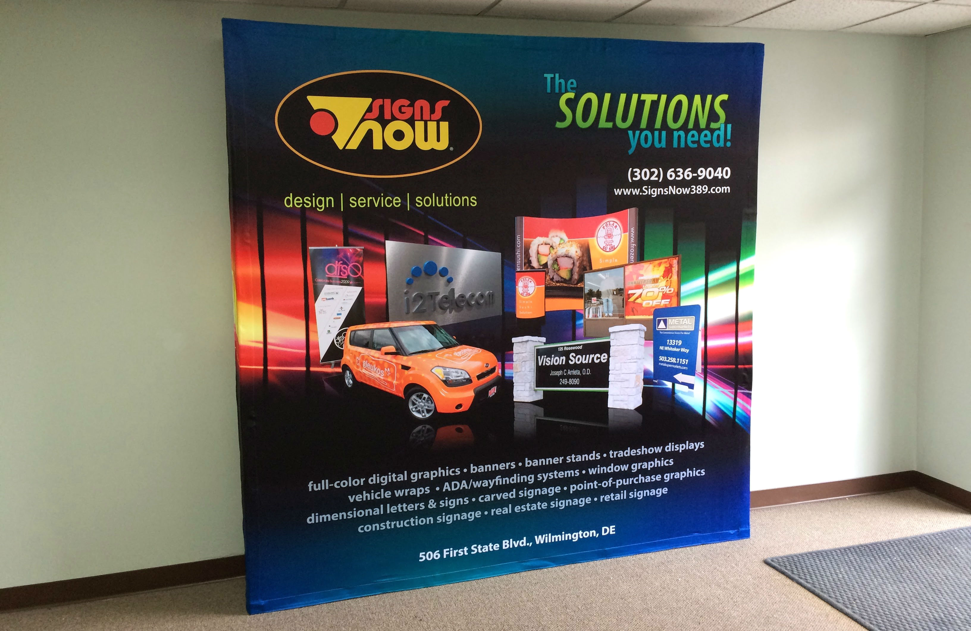 Signs Now Naples Provides Trade Show Display Stands To Marco Island Bonita Springs Fl And Surrounding Areas