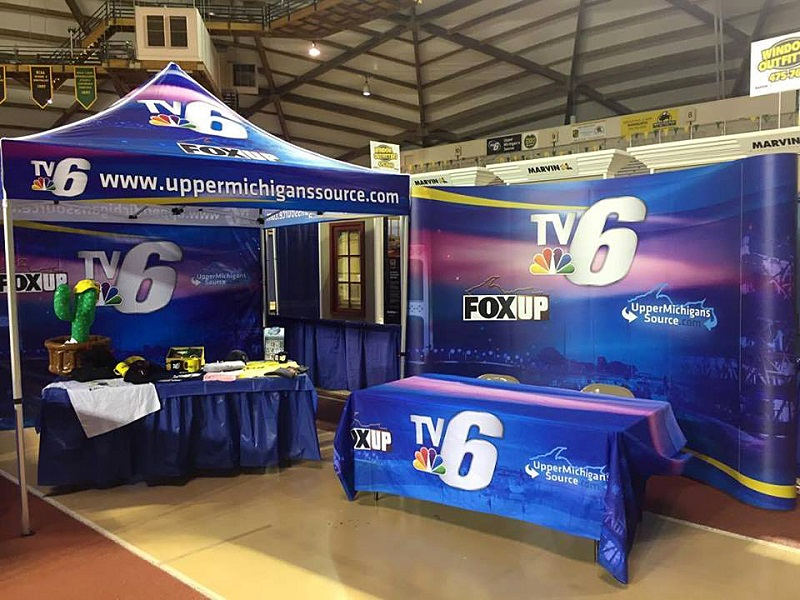 make your trade show display stand out signs now at allegra of tucson