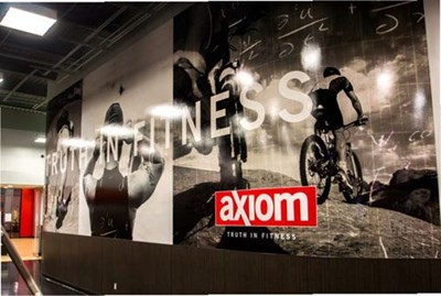 Signs Now Boise's Axiom Fitness Project Receives Top National Award