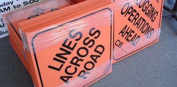 Plastic Signs & Yard Signs