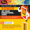 Infographic: The Power of Promotional Signage