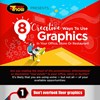 INFOGRAPHIC: 8 Creative Ways to Use Graphics in Your Office, Store or Restaurant