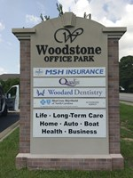 Stucco Monument - Woodstone Office
