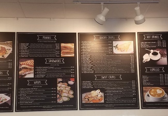 Menu Boards | Point of Purchase Displays | Restaurants, Diners, Bars & Food Truck Signs | Charlotte NC