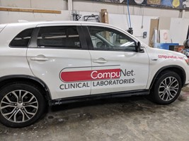 Vehicle Lettering for CompuNet