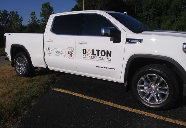Dalton Protection | Partial Vehicle Wraps | Custom Graphics & Vinyl Decals | Professional Services Signs | Dayton, OH