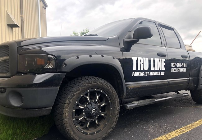 Truck Decals | Partial Vehicle Wraps | Custom Graphics & Vinyl Decals | Construction | Dayton, OH