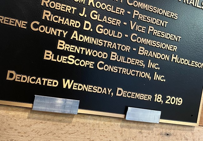 Plaques | Custom Monument Signs | Government and Municipal Signs | Xenia, OH
