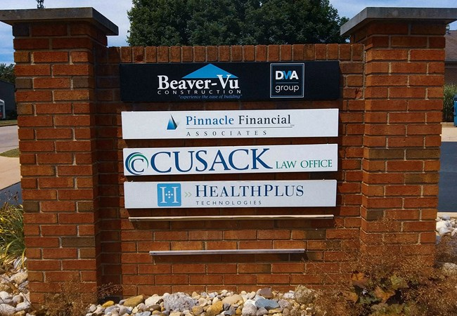 Exterior Signs | Ground Signs | Banking & Financial Institution Signs | Beavercreek, OH