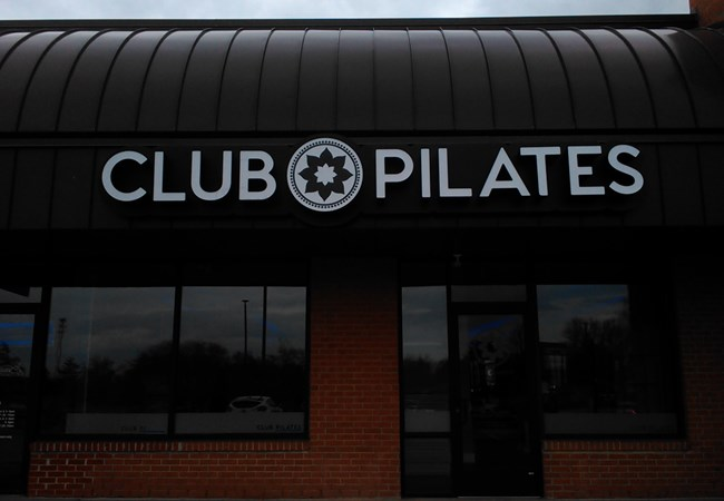 Channel Letters | Gym, Sports and Fitness Signs | Dayton, Ohio | Pilates