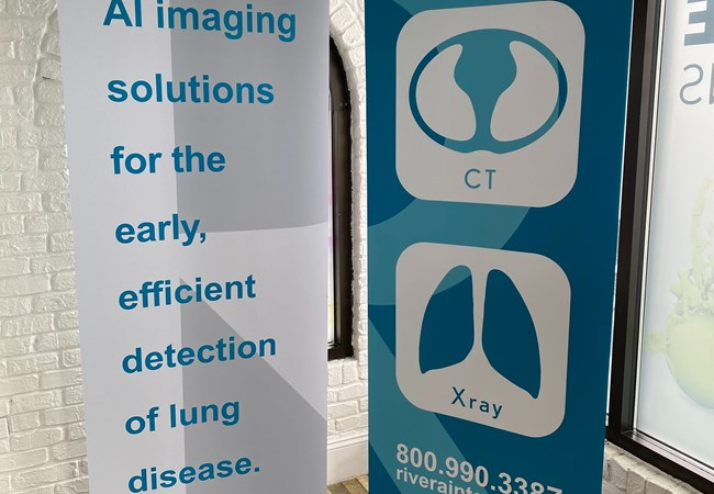 Banner Stands | Indoor Banners | Healthcare Clinic and Practice Signs | Dayton, OH