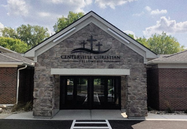 Centerville Christian Fellowship | Acrylic Letters | Dimensional Letters | 3D Signs & Dimensional Logos | Wall Letters | Churches & Religious Organizations | Centerville, OH