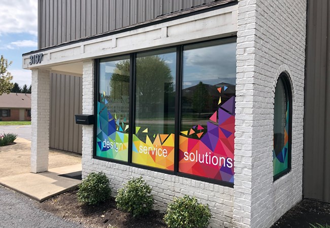 Window Graphics | Corporate Branding Signs | Advertising & Design | Beavercreek, OH