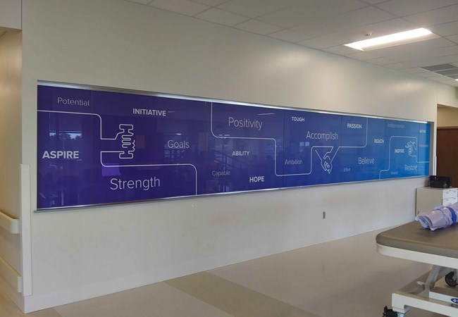 Window Graphics | Custom Graphics & Vinyl Decals | Healthcare | Dayton, OH