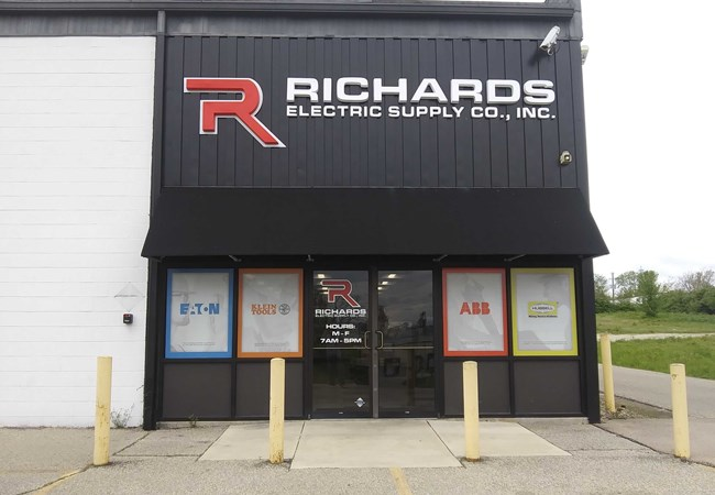 Dimensional Lettering | Window Graphics | Engineering & Architectural Signage | Dayton, OH