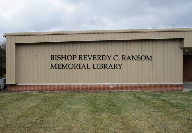 Payne Theological Seminary | Bishop Reverdy C Ransom Library | Dimensional Lettering | Aluminum Signs | Schools, Colleges & Universities Signs | Wilberforce Ohio