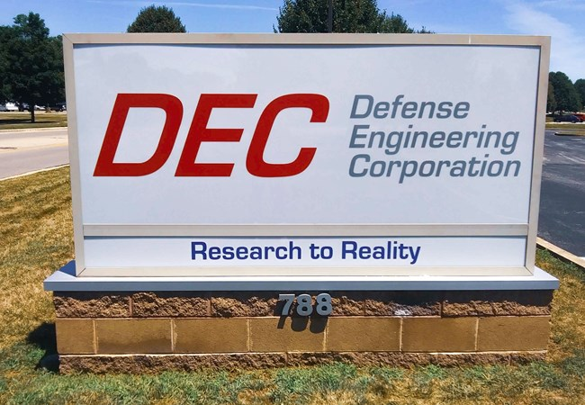Translucent Vinyl | Monument Sign | DEC | Light Boxes | Exterior Signs | Engineering & Architectural Signage | Beavercreek, OH