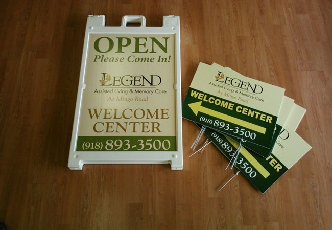 A-frame Retail Store Signs | A-frame Wayfinding Signs | Hospital & Medical Clinic Signs