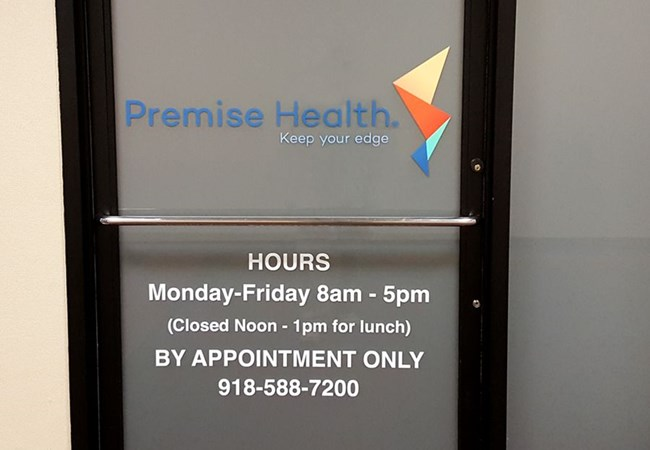 Window Graphics | Hospital & Medical Clinic Signs