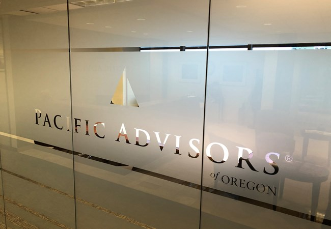 Window Graphics | Reception Area Signs | Professional Services Signs | Portland Oregon