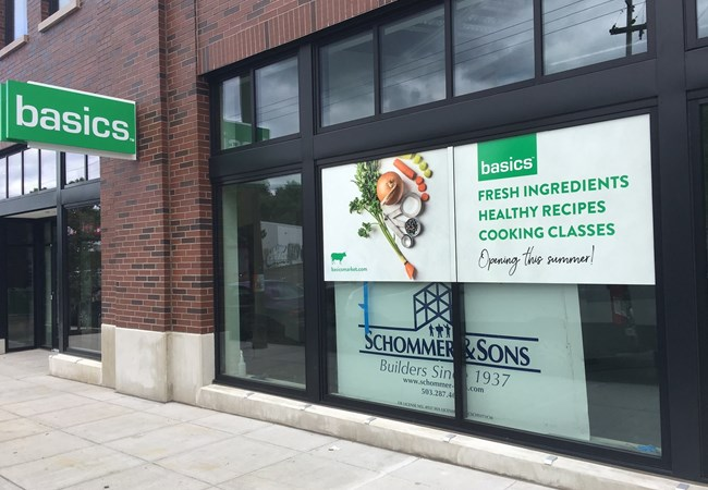 Window Graphics for Food Market | Restaurants, Diners, Bars & Food Truck Signs | Portland, OR
