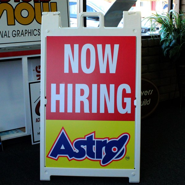 A-Frame Retail Signs