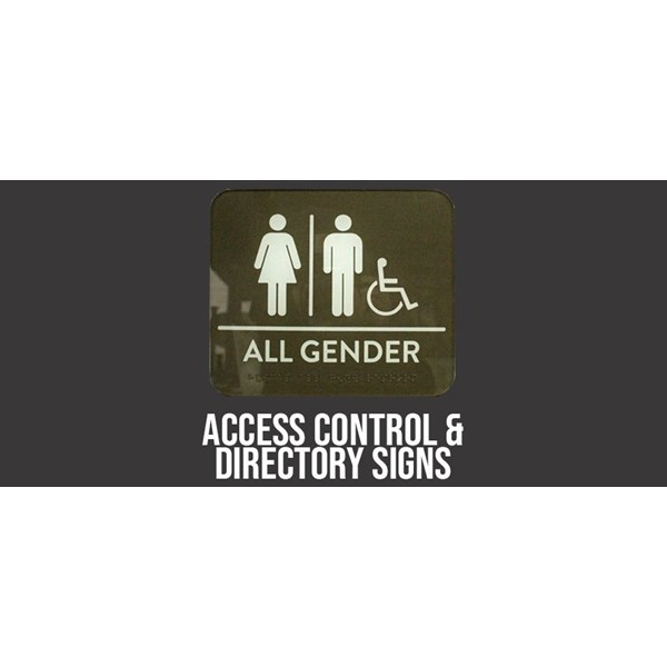 Access Control & Directory Signs