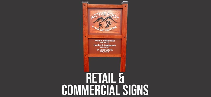 Retail & Commercial Signs